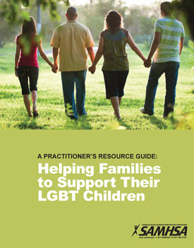 Helping families to support their LGBT kids brochure
