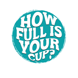 How full is your cup? logo